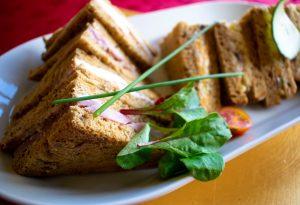 Buffet finger food: sandwiches